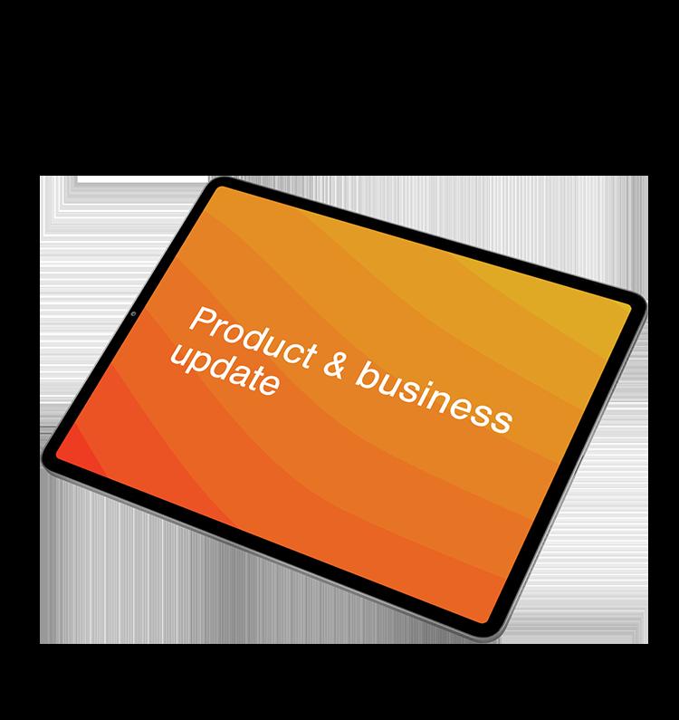wireless dali launch webinar tablet
